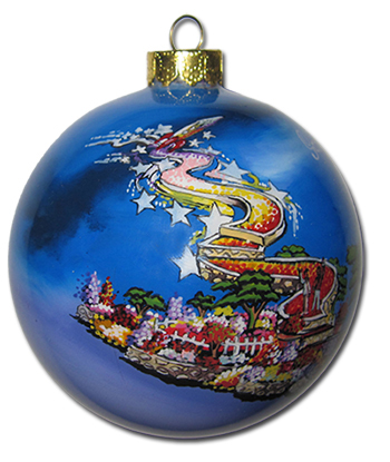 Artisan Glass Ornaments from Inner Beauty Promotional