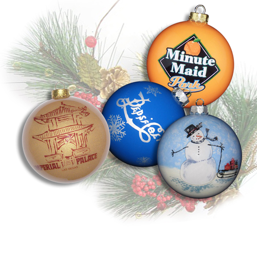 Custom Ornaments with Simple Artwork